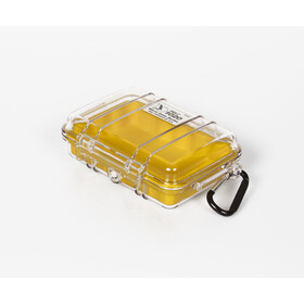 Peli MicroCase 1010 Caja, transparent-yellow